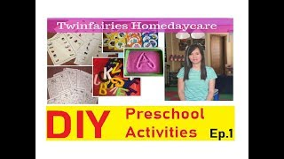 DIY Preschool Activities Ep.1