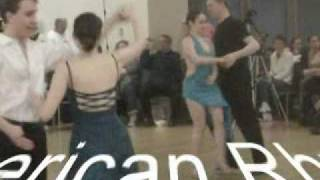 2010 Holy Cross Ballroom Dance Competition Newcomer Events