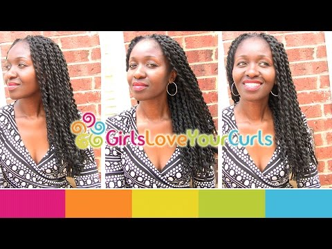 ♥ 68 ♥ Grow Long Natural Hair – African Threaded Extensions.