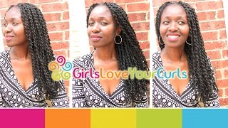 Grow Long Natural Hair – African Threaded Extensions on 4C Hair - Girlsloveyourcurls