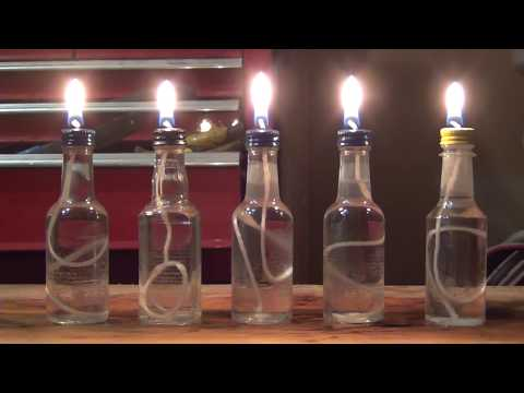 How to make small oil candles
