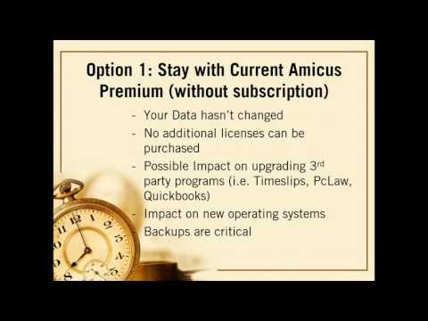 2016 08 25 14 01 Amicus Attorney Options   Premium Edition