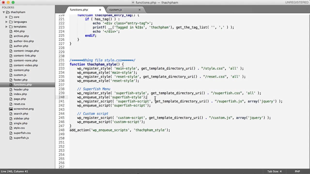 [Lập trình theme WordPress - 16] Viết CSS cho theme phần 2