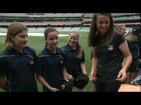 Team Vic Cricket Cap Presentation 2017