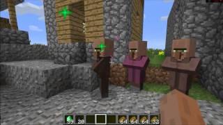 Как обмануть жителя в minecraft 1.5.2