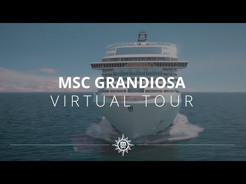 MSC Grandiosa Virtual Tour - Full version - YouTube