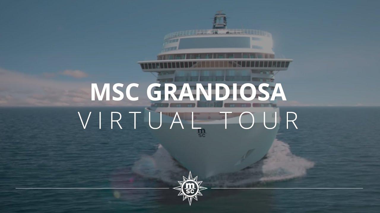MSC Grandiosa - Virtual Tour (Full version) - YouTube