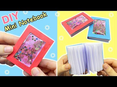 Cách làm Sổ Tay Nước mini   How to make Mini NoteBook, DIY LIQUID MINI NOTEBOOKS   Liam Channel