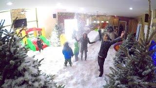 INDOOR SNOWSTORM PRANK!!