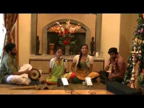 Sanchita & Sadhvi Chari - Pahi Pahi Bala Ganapathe - Hamsadhwani