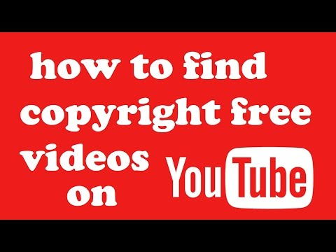 how to find copyright free videos on youtube HINDI