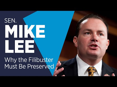 VIRTUAL EVENT: Holding the Line: Senator Mike Lee on Why the Filibuster Must be Preserved
