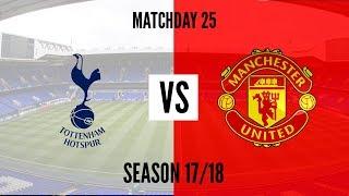 Tottenham Vs Man. United 2 - 0 All Goals & Highlights