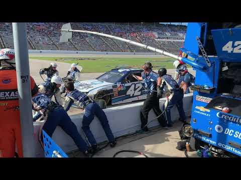 Jamie McMurray 42 Car NASCAR Pit Stop @ Texas Motor Speedway