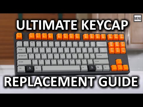ULTIMATE Mechanical Keyboard Keycap Replacement 'How To' Guide