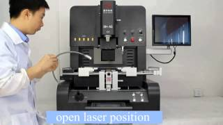 DH-A5 fully automatic bga rework station operation, newly upgrated DIVX 720p