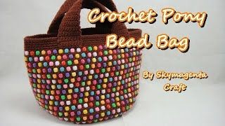 Crochet Tutorial - Pony Bead Tote Bag