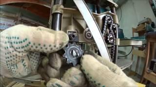 Ремонт валика подачи рейсмуса Макита 2012NB (Мастерская Пират Вудс)