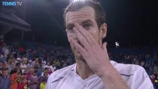 Murray Reflects On Cincinnati QF Win 2016