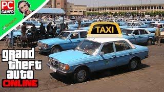 رحلة استكشاف اكبر نفق بسيارات اجرة  مغربية /  Grand Theft Auto V