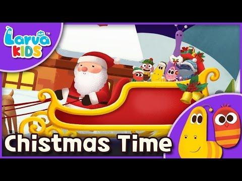 [Nursery Rhyme] Christmas Time  -English - Larva KIDS