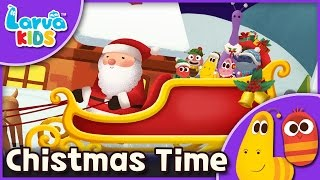 [Nursery Rhyme] Christmas Time  -English - Larva KIDS