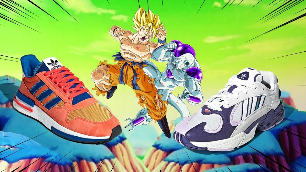 Limited Edition Adidas X Dragon Ball Shoes