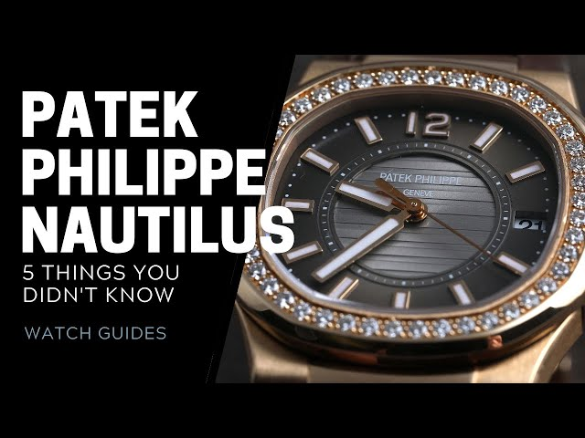 Patek Philippe Nautilus History: 5 Facts You Didn't Know | SwissWatchExpo