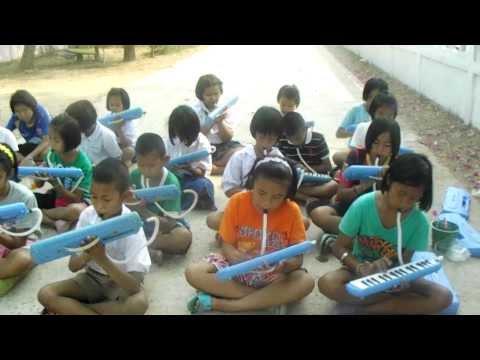 ฝึกซ้อมเพลงชาติเมโลเดียน ร.ร.โคกพระ ตอนที่ ๗
