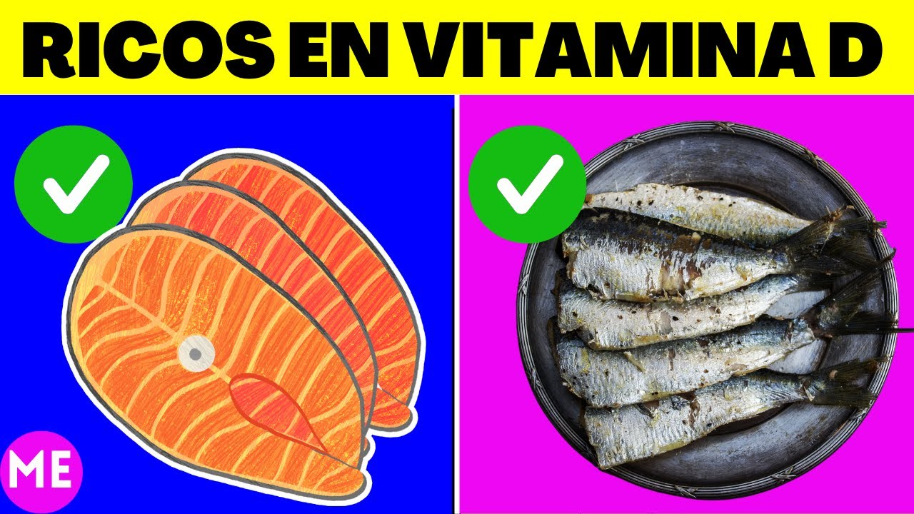 9 Alimentos Saludables Ricos En Vitamina D Youtube