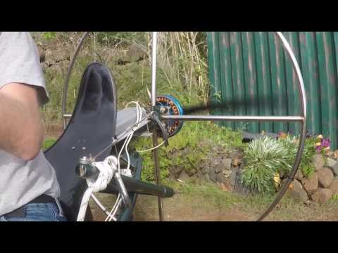 BLDC Motor Test with Propeller on Skyrider One