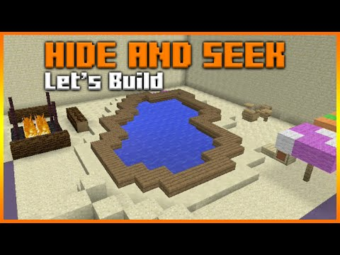 Minecraft Xbox 360 Ps3 Hide And Seek Lets Build Beach Paradise Part 1