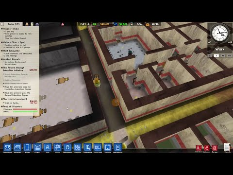Prison Architect - SECRET 3D MODE?!?!?! (Hidden Easter Egg)
