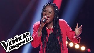 """Grace Udoh sings """"Be without you"""" / Blind Auditions / The Voice Nigeria Season 2"""