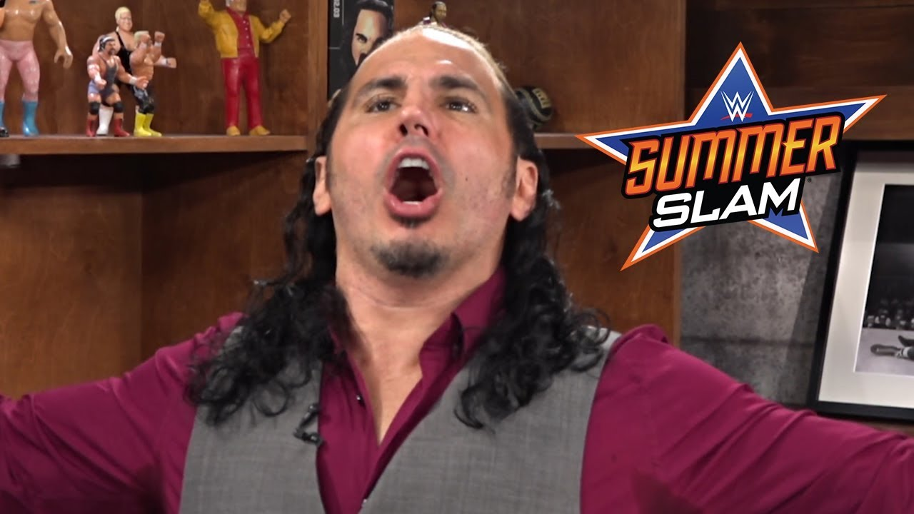 Reminiscing With Matt Hardy About His Favourite SummerSlam Moments