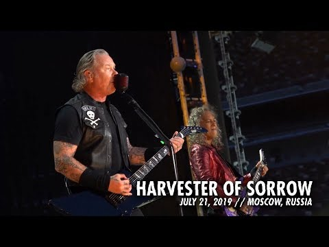 SHROOM - Metallica's 'Harvester Of Sorrow' Pro Shot LIVE From Moscow [Video]