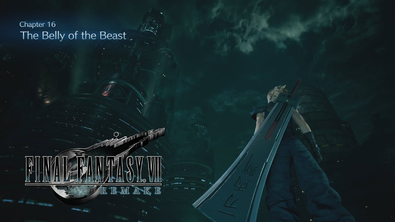 Final Fantasy 7 Remake Chapter 16 The Belly Of The Beast Gameplay Youtube