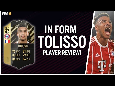 FIFA 18 IN FORM CORENTIN TOLISSO (84) PLAYER REVIEW! | FIFA 18 ULTIMATE TEAM
