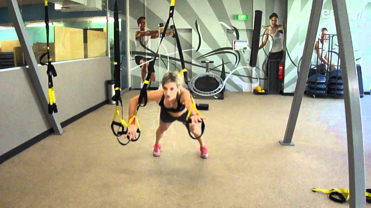 Total-Body TRX Workout | Fitness Magazine