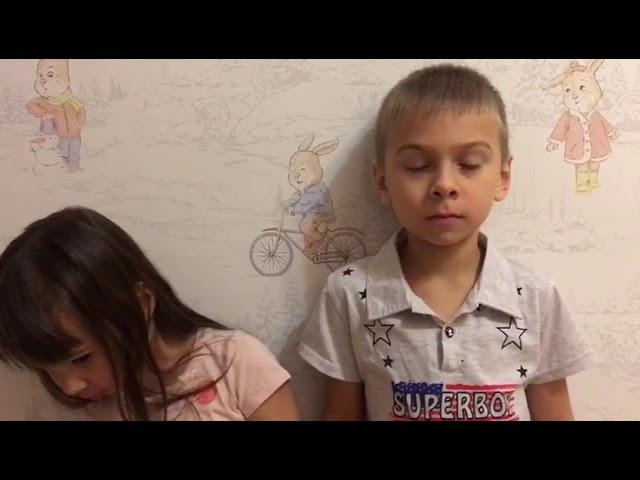 Изображение предпросмотра прочтения – «Буяновы Никон и Алисия» читает произведение «ДОБРОТА» Э.А.Асадова