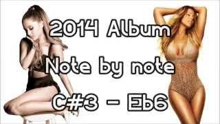 Me. I Am Mariah Vs. My Everything (Mariah Carey's Vs. Ariana Grande's 2014 Album) [C#3 - Eb6]