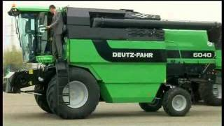 Deutz Fahr kombajn model 6040H