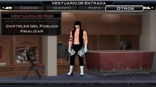 COMO HACER A AJ STYLES ( BACKASH ATTIRE ) EN WWE 2011 PSP BY DODOMESSI