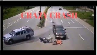 NEW CRAZY CAR CRASH COMPILATION 2018 Germany/USA/Russia