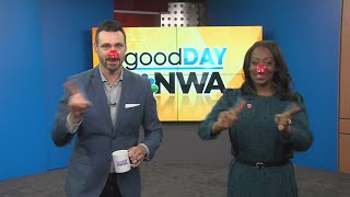 Good Day NWA: Hot Topics Red Nose