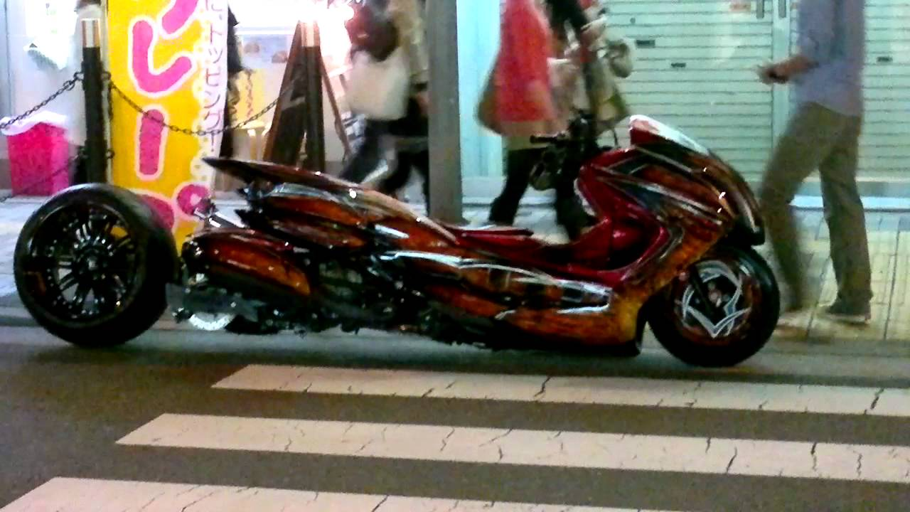 tuning moto japon