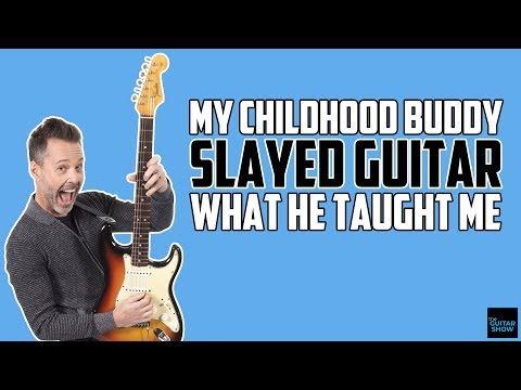 My Childhood Buddy Slayed Guitar! What He Taught Me