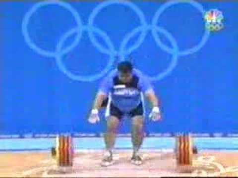Athens 2004 lifting