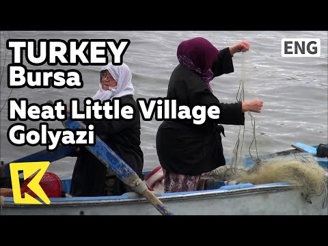 【K】Turkey Travel-Bursa[터키 여행-부르사]한적하고 아담한 마을 굘야즈/Bursa/Neat Little Village, Golyazi/Lake Uluabat