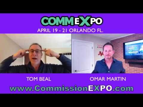 Commission Expo interview with Tom Beal & Omar Martin